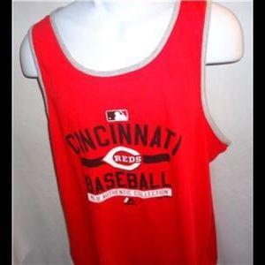 Majestic Cincinnati Reds MLB AC Team Tank Sz.L